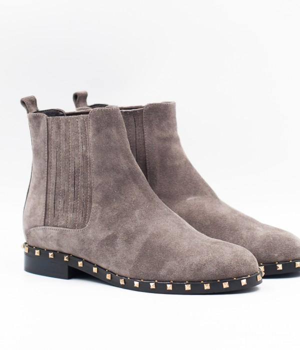 PREFERITA зимние ботинки из натуральной замши и меха